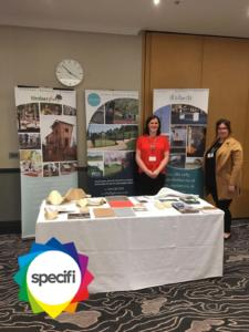 Business Manager Sarah Beck and Office Manager Nichola Reed at Specifi Leeds