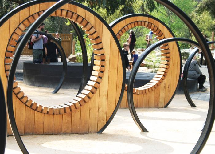 Handspring Design - Kew Gardens - Pergola Hoop