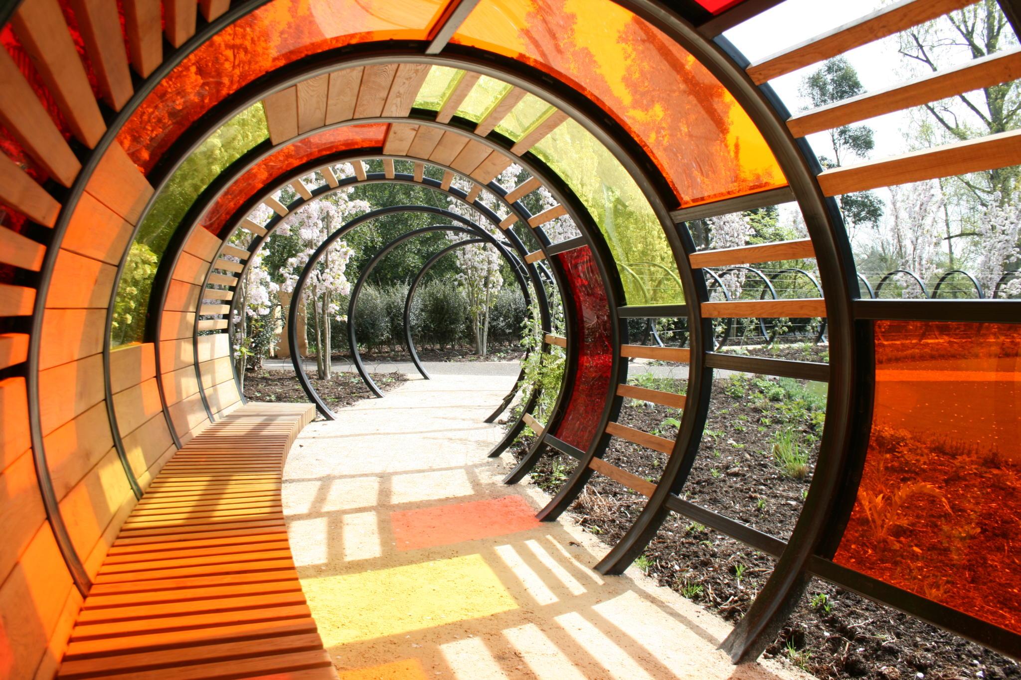 All Urban - Handspring Design - Tunnel Shelter - Royal Botanical Gardens Kew