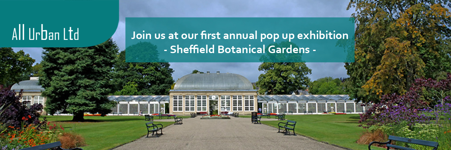 All Urban Pop up Sheffield Botanical Gardens