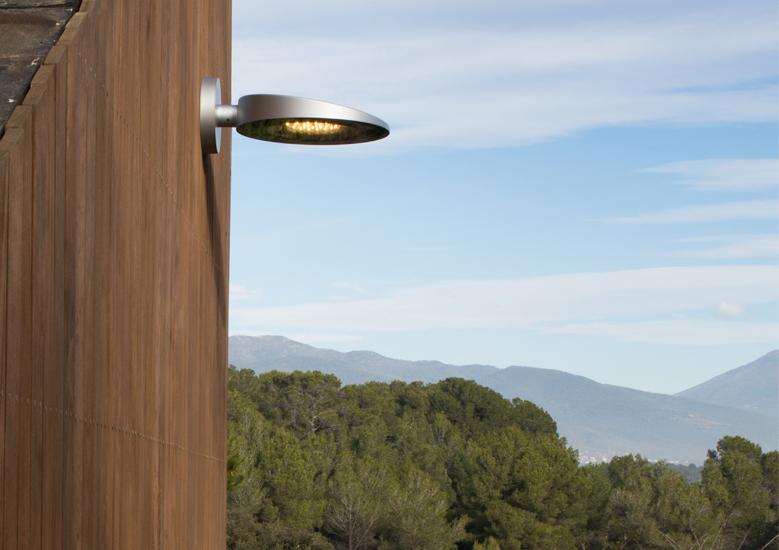Urbidermis - Slope street light - wall mounted
