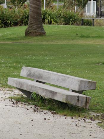 Urbidermis - Trapecio Concrete bench