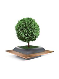 Al Ain planter by LAB23