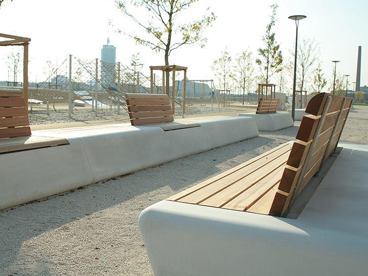 Street Furniture Designs Arpa Concrete Bench System