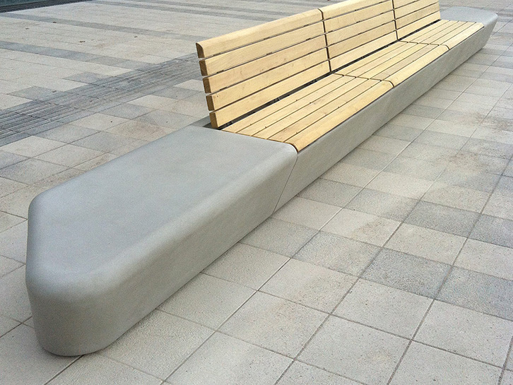 Arpa Concrete-bench-system