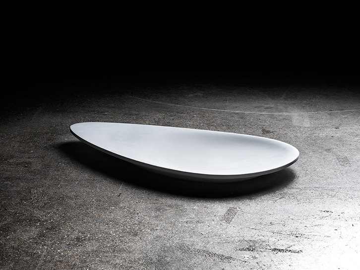 Dishes Disc & Drop - Concretebowl round & oval-shaped