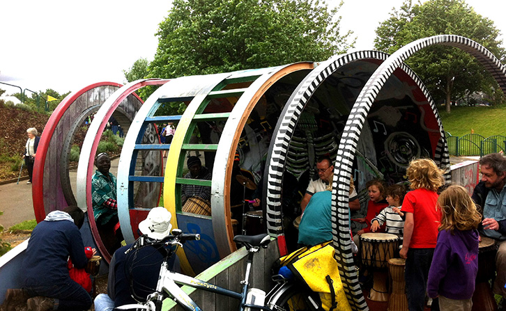 Hoop - Youth Shelters designed exclusively for All Urban