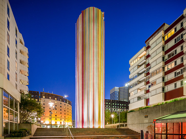 LEC Lyon - allevard outdoor lighting
