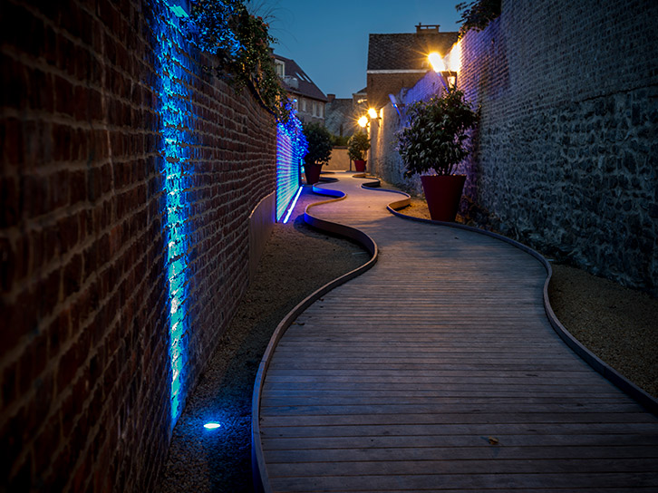 LEC Lyon - Lucerne outdoor lighting