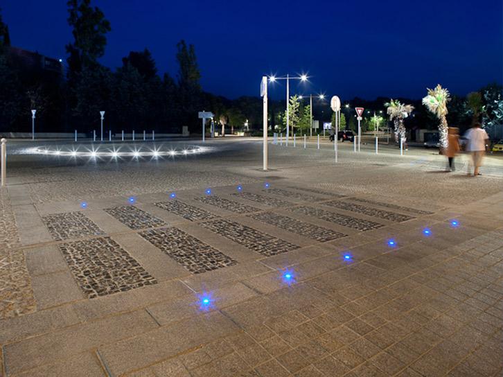 LEC Lyon - Lucerne outdoor lighting