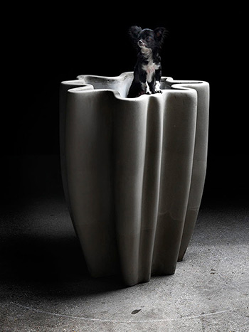 Meander Concrete-vase