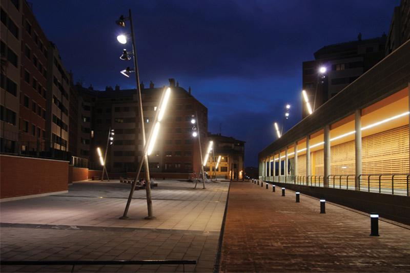 Urbidermis Santa & Cole - urban lighting